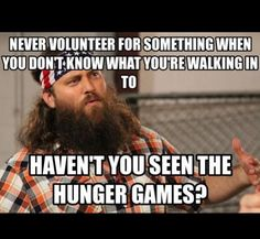 duck dynasti, games, the hunger, laugh, hunger game