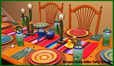 Mexican Centerpiece & Dinner Party Decorations