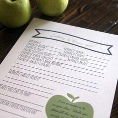 getting to know you teacher survey- find out all of your kids' teachers favorite things with this free printable!
