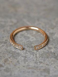 Zoe Chicco Rising Diamond Ring