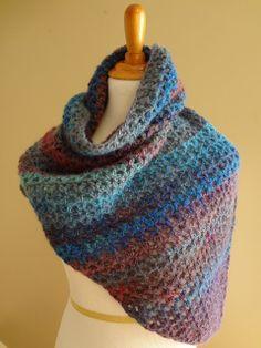Free Crochet Pattern...Kristen Shawl