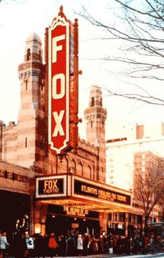 The historic Fox Theatre in Midtown Atlanta is the perfect venue to catch a broadway play!