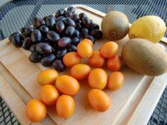 Healthy Recipe - Kumquat Kiwi Soup w/Black Grapes