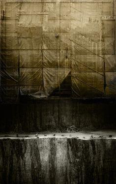 "Samuel Poromaa, ""The Curtain"" - Writing inspiration #nanowrimo #scenes #settings"