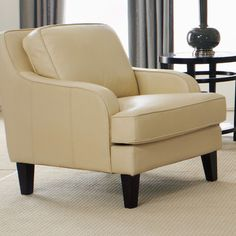 Lazzaro Leather Arm Chair