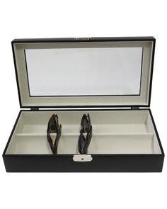 Large Leather Sunglass Case