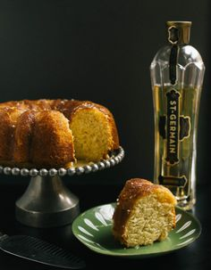 Old-Fashioned St. Germain and Lemon Bundt Cake | The Baking Bird