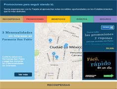 American Express used real-time geo-targeting to show eligible card members a map of the nearest qualified retailers where they could redeem Membership Rewards points. This email, sent to a segment of card members in Mexico, showed the closest pharmacies based on the email recipient's current location. #emailmarketing