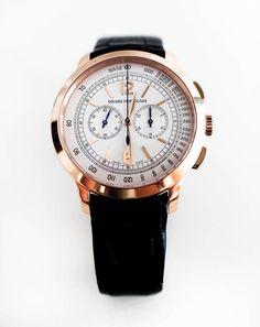 Girard-Perregaux 1966 Rose Gold Chronograph #luxurywatch #GirardPerregaux Girard-Perregaux. Swiss Watchmakers watches #horlogerie @calibrelondon