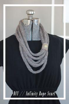 Infinity RopeScarf by joyofallcrafts - home - DIY