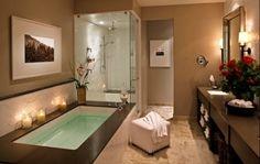 spa bathrooms, dream bathrooms, big bathroom, dream room, dream hous, master bathrooms