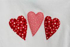 Valentine's Day - Appliqued Heart Shirt - DIY Tutorial