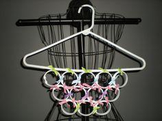 Too Cute Ribbon Scarf Holder Hanger Organizer by ethansmommy99, $6.00