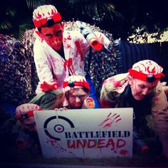 Zombie Laser Tag On Pinterest