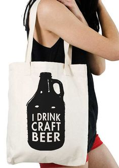 Hey, I found this really awesome Etsy listing at http://www.etsy.com/listing/113695525/i-drink-craft-beer-tote-bag