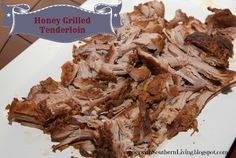 Supper with Southern Living: Honey Grilled Tenderloin (Crockpot Recipe!)