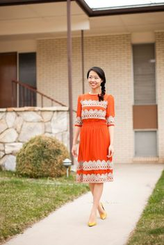 Easy DIY Dress makeover; maybe even I could attempt this one!
