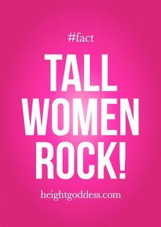 Tall Women Rock!