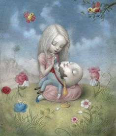Artwork by Nicoletta Ceccoli