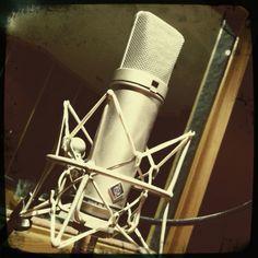 Neumann U87, one of my favorite microphone