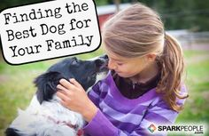 The Best Dogs for Kids | via @SparkPeople #SparkMoms #family #pet #puppy