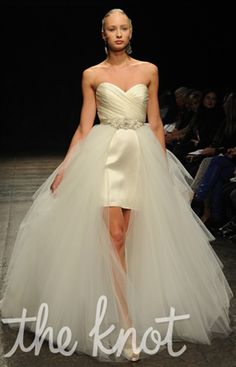 The Knot Note: These hot-off-the-runway dresses may not be available until spring 2013.Photo: Kurt W