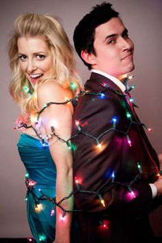 Awesome couples Christmas shoot! This would be an adorable idea! I have a few couples in mind for this!