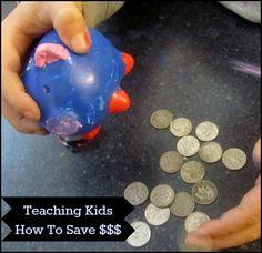 Saving Money Lessons for Kids