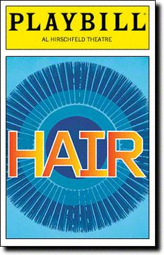 Playbill Cover for Hair