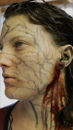 Watch Real and Horrifying Zombie Makeup Tricks video