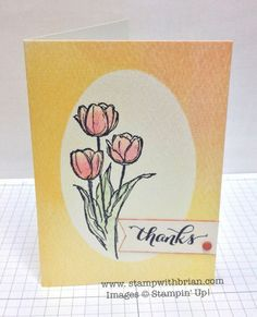 Blessed Easter, Another Thank You (Photopolymer), The Watercolor Wonder Note Cards and Envelopes, Stampin' Up, Brian King