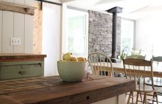 kitchen view Catskill Cabin by Jersey Ice Cream Co, Remodelista