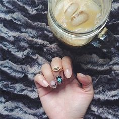 All eyes are on this manicure. #nailart