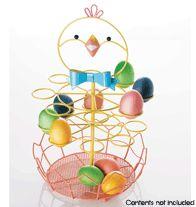 Chick Egg Holder with Basket