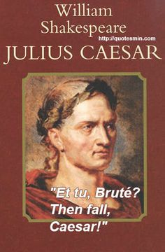 a literary analysis of julius caesar by william shakespeare Check out william shakespeare's julius caesar video sparknote: quick and easy julius caesar synopsis, analysis, and discussion of major characters and themes.