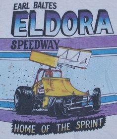 Eldora Speedway 1982 T-Shirt race car, 1982 tshirt, vintag tshirt, speedway 1982, eldora speedway
