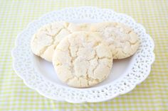 Lemon Sugar Cookie Recipe on twopeasandtheirpod.com Soft and chewy with a refreshing lemon flavor! #cookies