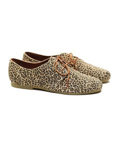 Shoe the Bear HK Low Leopard Shoes #ShoetheBear #shoes #wholesale #shoptoko