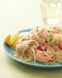 Lemony Shrimp Scampi Recipe