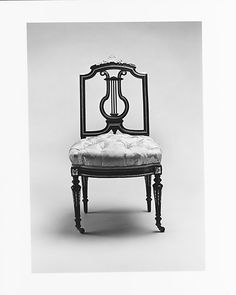 Side Chair  Léon Marcotte  (1824–1887)  Date: 1860–70 Geography: Mid-Atlantic, New York City, New York, United States Culture: American Medium: Maple