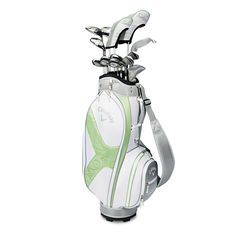 Women's Solaire II 14-Piece Complete Set: years of extensive research with women golfers have led us to develop an Energy Efficient Design approach that optimizes every element of a golf club to maximize the performance of a woman's swing. This is the most forgiving set of clubs for women with longer, straighter distance, higher ball flights and better accuracy from every point on the course.
