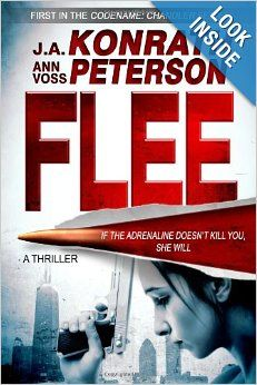 Flee (Chandler Series) by J.A. Konrath, Ann Voss Peterson.  Cover from amazon.com.  Click the cover image to check out or request the mystery kindle.