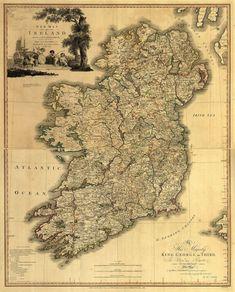 1797 Map of Ireland