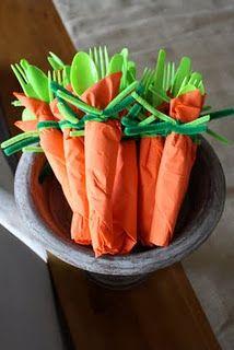 Utensils for Easter