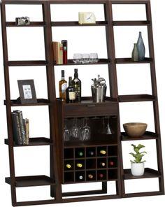 Sloane wine bar crate&barrel