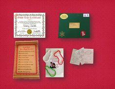 Santa's PreFlight Checklist Package by #SantaGiftWorkshop on Etsy, $10.85