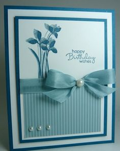 Stampin' Up! Birthday Wishes by eva.ritz
