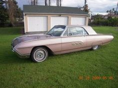 1963 Thunderbird... in pink.  SWOON.