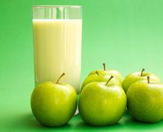 Healthy Coconut Oil Green Apple Juice  #Healthy #Coconut #Oil #GreenJuice