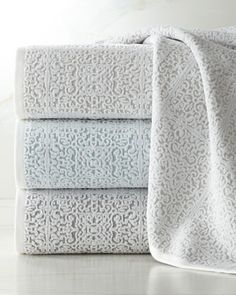 Madeira Towels at Neiman Marcus #PowderRoom #Inspiration